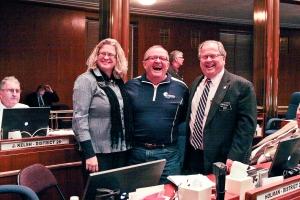 Rep. Gail Mooney, Neil Johnson & Rep. Rick Holman